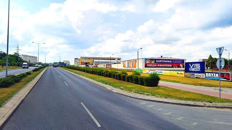billboard 12 m2, Włocławek, ulica Królowej Jadwigi,