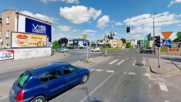 billboard 12 m2, Inowrocław, ulic Szymborska, Marulewska i Andrzeja