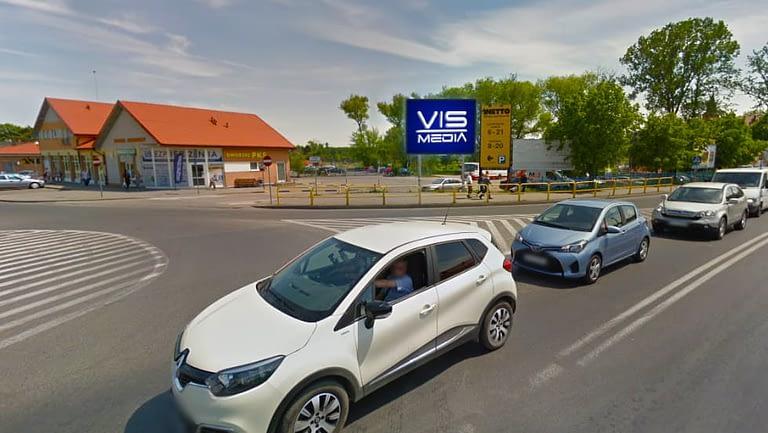 Telebim ulica 22 stycznia (Netto) w Lipnie, agencja reklamowa Vismedia