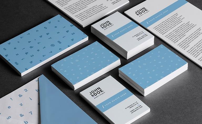 Identyfikacja wizualna Agencja reklamowa logo projekt