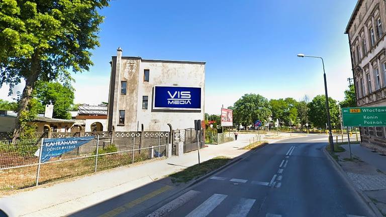 billboard 12 m2, Inowrocław, ulica Działowa 6