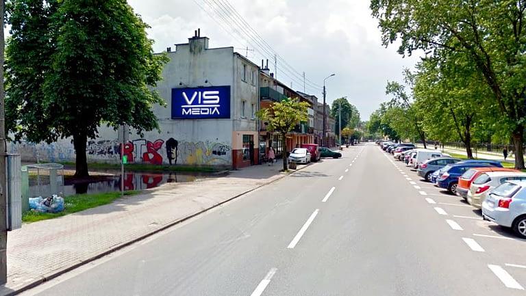 billboard 12 m2, Skierniewice, ulica Henryka Sienkiewicza 18