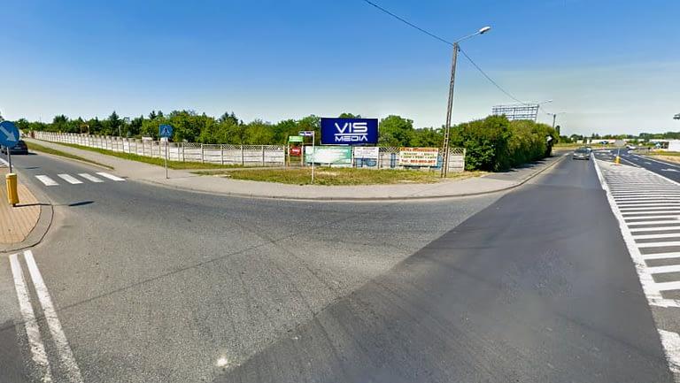 billboard 12 m2, Inowrocław, skrzyżowanie ulic Pileckiego i Toruńskiej