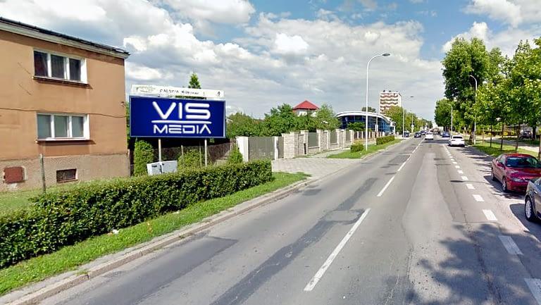 billboard 12 m2, Kielce, ulica Krakowska 20