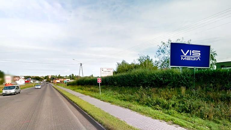 billboard 12 m2, Inowrocław, Tupadły 38