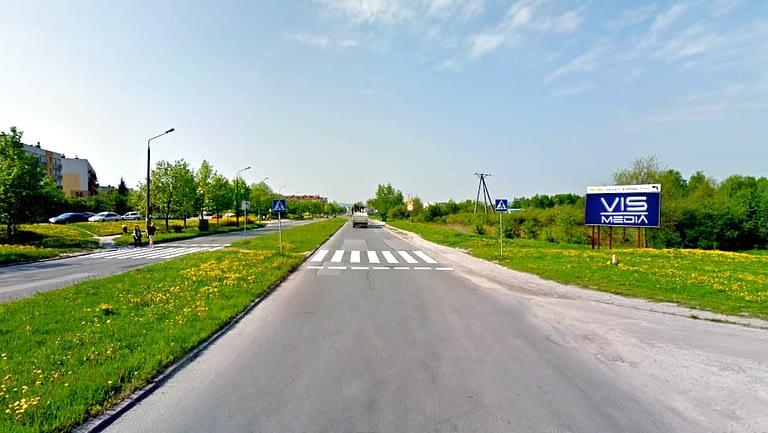 billboard 12 m2, Kielce, ulica Klonowska i Orkana