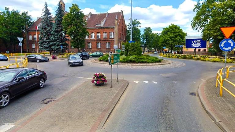Rondo Sobieskiego (Sobieskiego 292) w Wejherowie, agencja reklamowa Vismedia