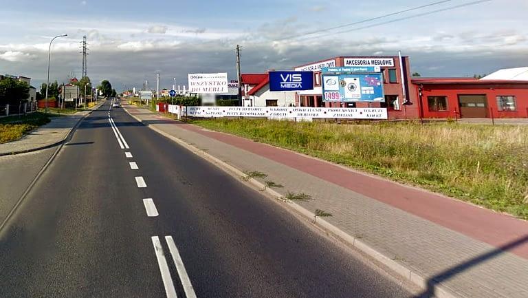 billboard Brodnica ulica Podgórna 12 m2