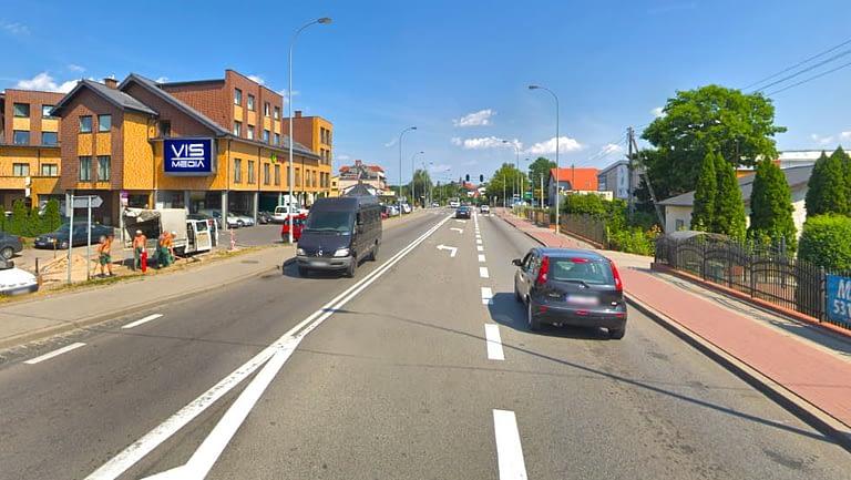 ulica Grunwaldzka 42 w Pruszczu Gdańskim, agencja reklamowa Vismedia