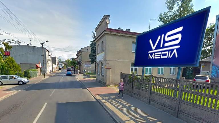 billboard 12 m2, Zgierz, ulica Popiełuszki 5