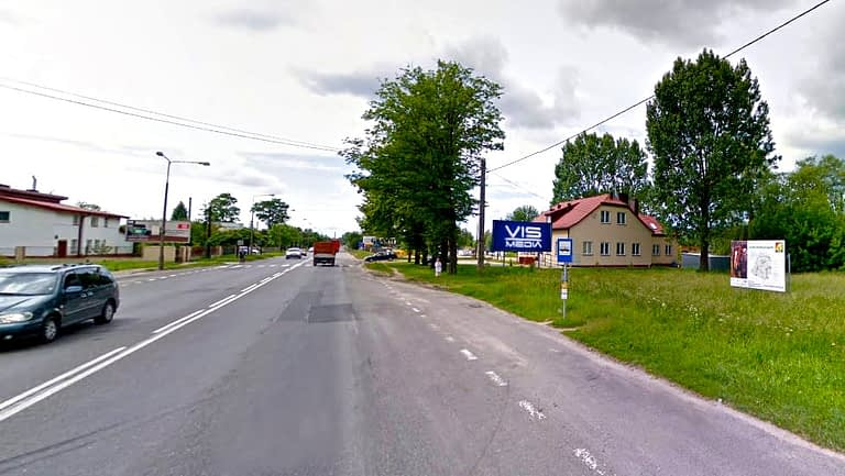 billboard 12 m2, Zduńska Wola, ulica Łaska 232