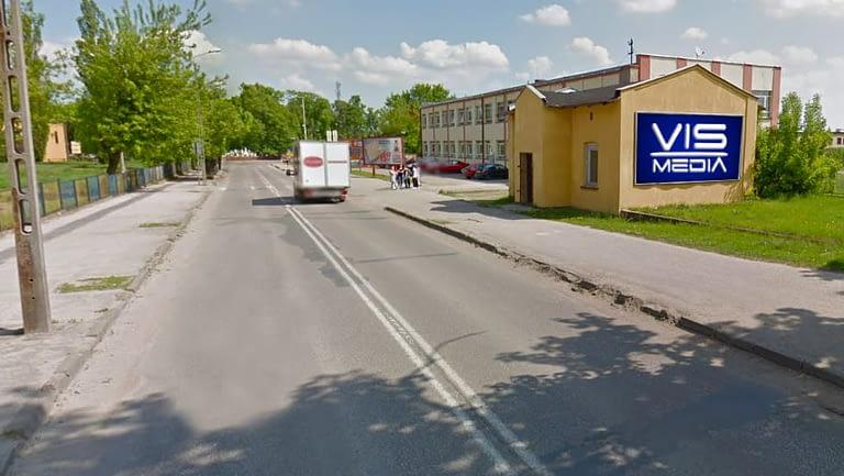 billboard Aleksandrów Kujawski ulica Sikorskiego 2, 12 m2