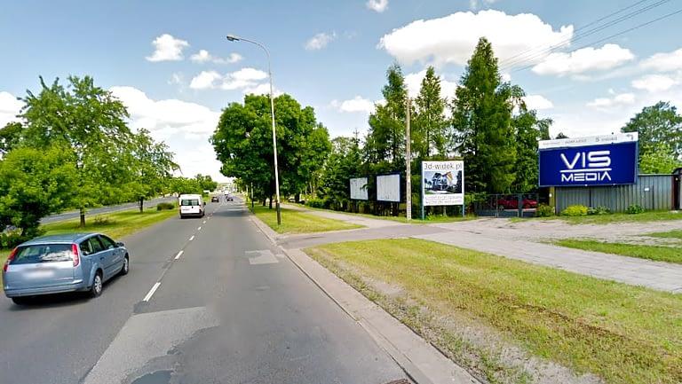 billboard 12 m2, Łódź, ulica Rzgowska 270