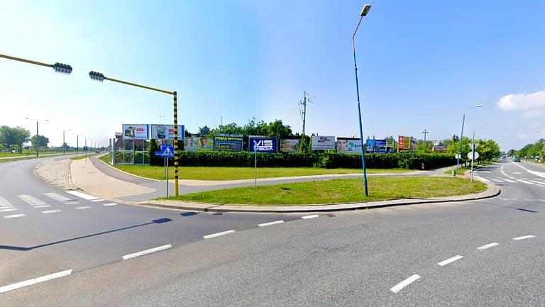 billboard 12 m2, Skierniewice, Rondo Solidarności