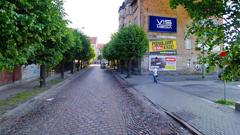 billboard 12 m2, Grudziądz, ulica Henryka Sienkiewicza 38