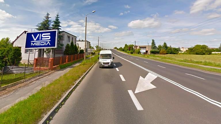 billboard 12 m2, Inowrocław, ulica Poznańska 254 (1)