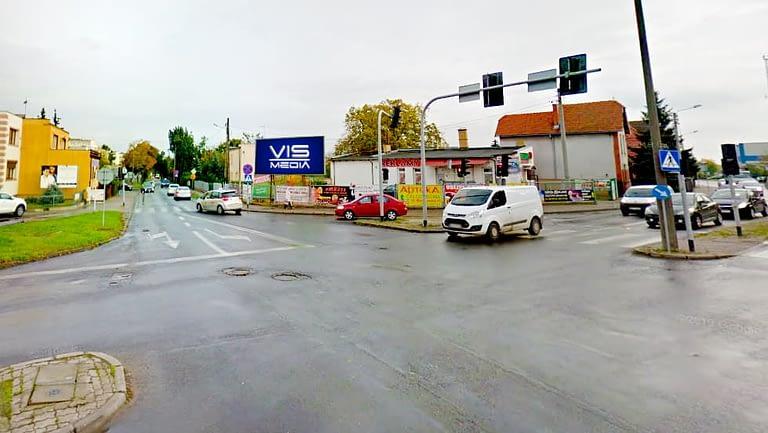 billboard 12 m2, Inowrocław, ulica Szymborska 13
