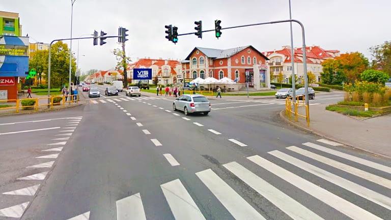 Ulica Jagiełły oraz Czarnieckiego w Ostródzie, agencja reklamowa Vismedia