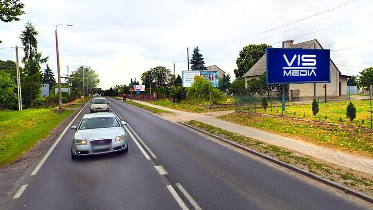 billboard 12 m2, Kowalewo Pomorskie ulica Toruńska, droga krajowa nr 15