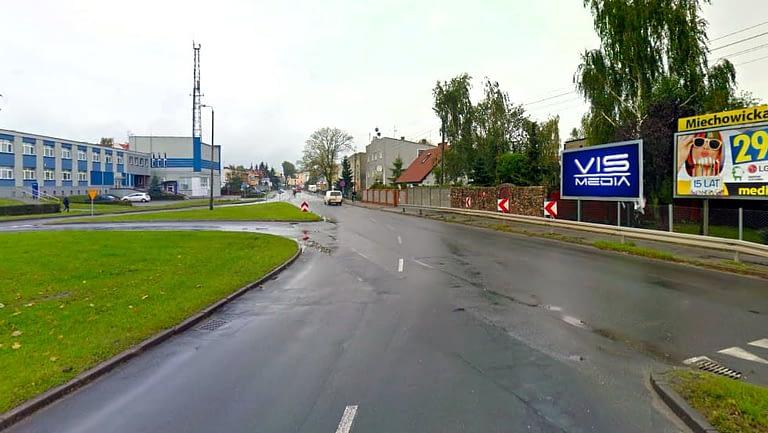 billboard 12 m2, Inowrocław, ulica Szymborska 37
