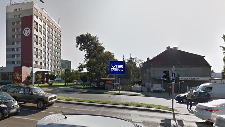 Telebim Moniuszki w Bydgoszczy, agencja reklamowa Vismedia
