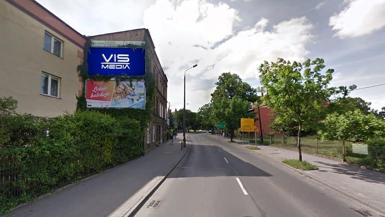 billboard 12 m2, Inowrocław, ulica Jacewska 12