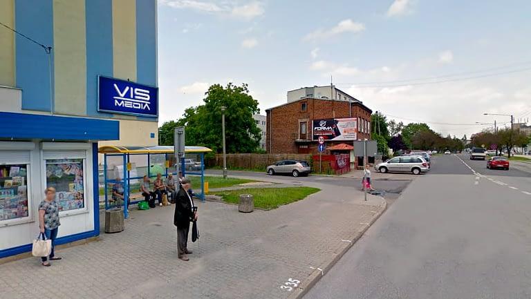 billboard 12 m2, ulica Jagiellońska 8
