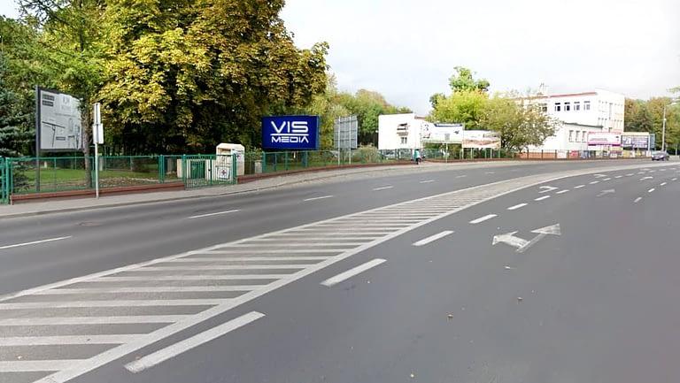 billboard 12 m2, Grudziądz, ulica Marszałka Piłsudskiego 26
