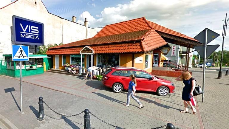 Telebim ulica Rynek Nowomiejski w Nakło Nad Notecią, agencja reklamowa Vismedia