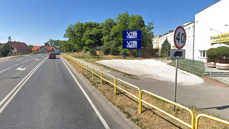billboard Złotniki Kujawskie ulica Szosa Bydgoska i Powstańców Wielkopostnych, 12 m2