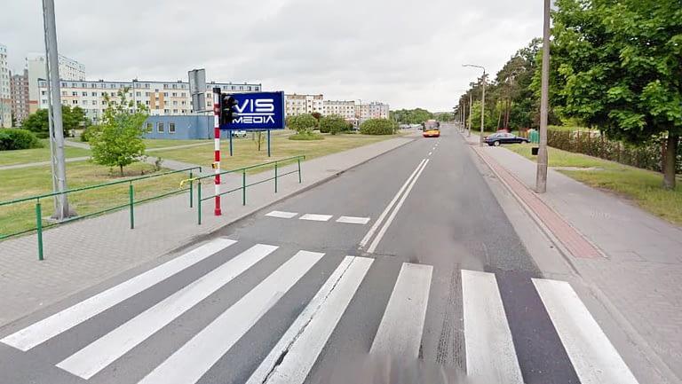billboard 12 m2, Grudziądz, ulica Nauczycielska 10 (2)