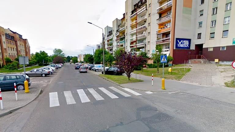 billboard 12 m2, Bełchatów, ulica Świętej Barbary oraz ulica Budryka 4