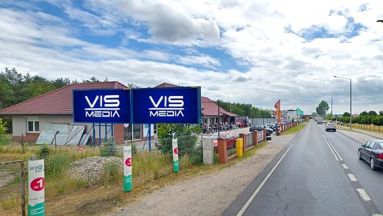 billboard 12 m2, Grudziądz, ulica Szosa Toruńska 49 (1)