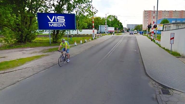 billboard 12 m2, Włocławek, ulica Hutnicza,