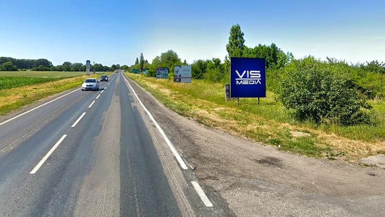 billboard 12 m2, Inowrocław, ulica Szosa Bydgoska, wyjazd z Inowrocławia, droga krajowa nr 25