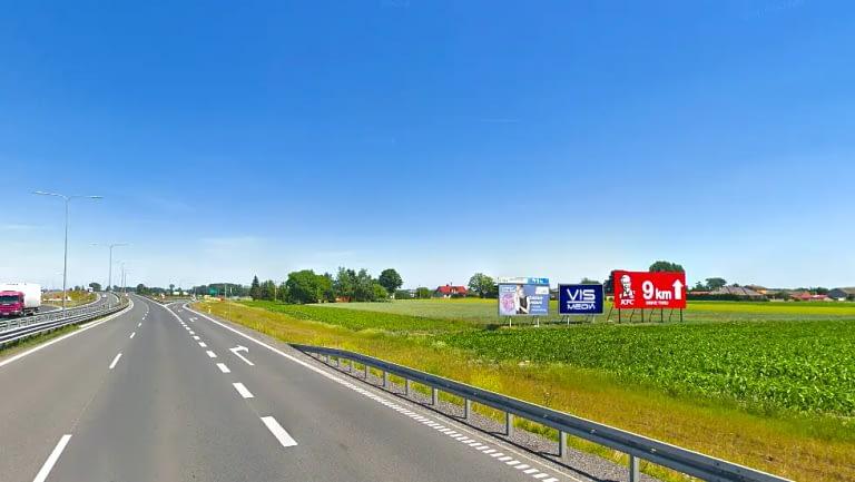 Obwodnica (Poznań) Inowrocław Billboard vismedia