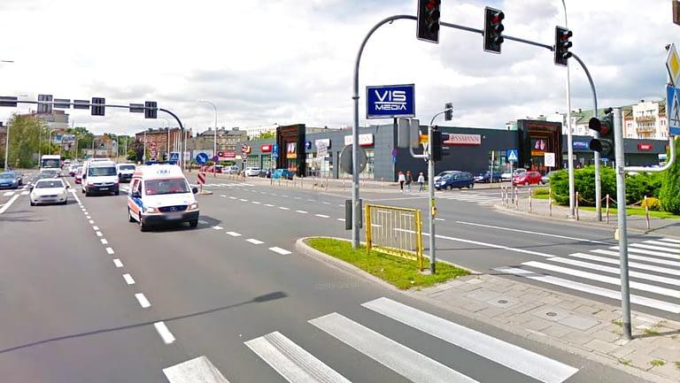 Ulica Aleja Wojska Polskiego 116 w Kaliszu, agencja reklamowa Vismedia