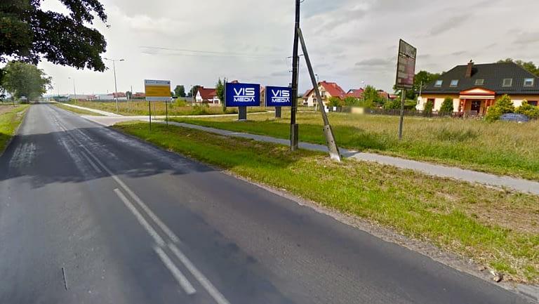 billboard Brodnica ulica Lidzbarska oraz Grabowa 12 m2