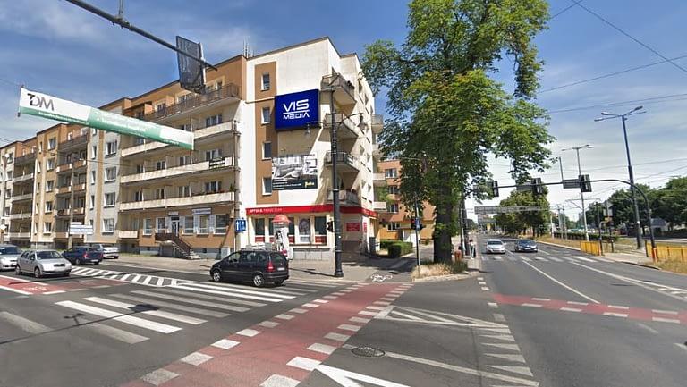 Telebim Ulica Odrodzenia w Toruniu, agencja reklamowa Vismedia