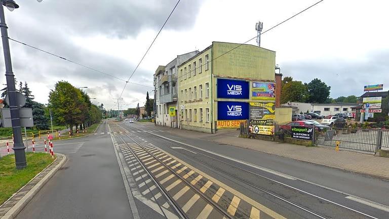 billboard 12 m2, Grudziądz, aleja 23 stycznia i ulica małograblowa