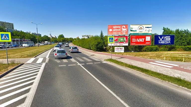 Billboard Inowrocław Aleja Niepodległości 12m2