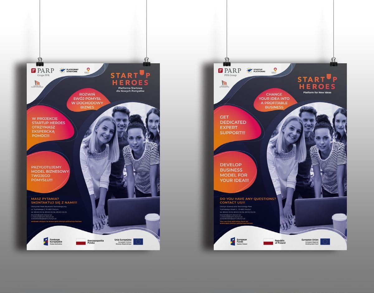 Startup Heroes_plakat_A3