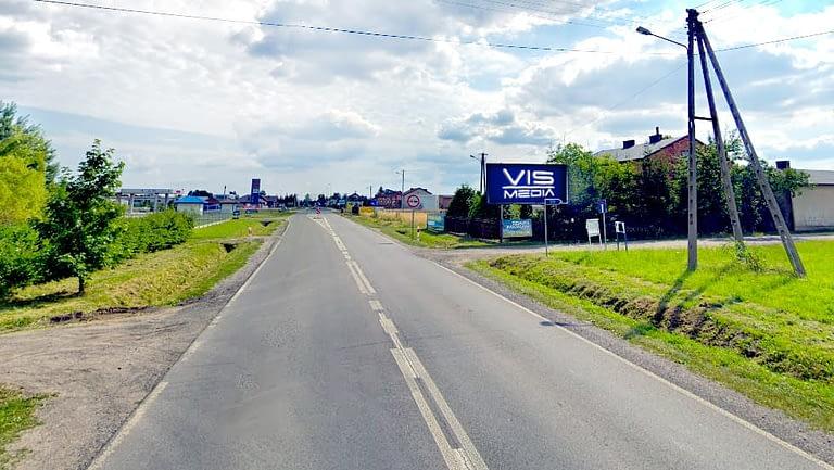 billboard 12 m2, Zawady obok Bełchatowa, Zawady 38