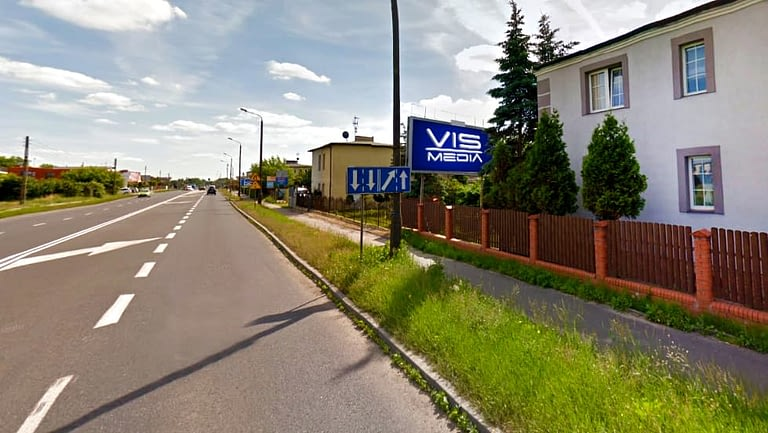 billboard 12 m2, Inowrocław, ulica Poznańska 254 (2)