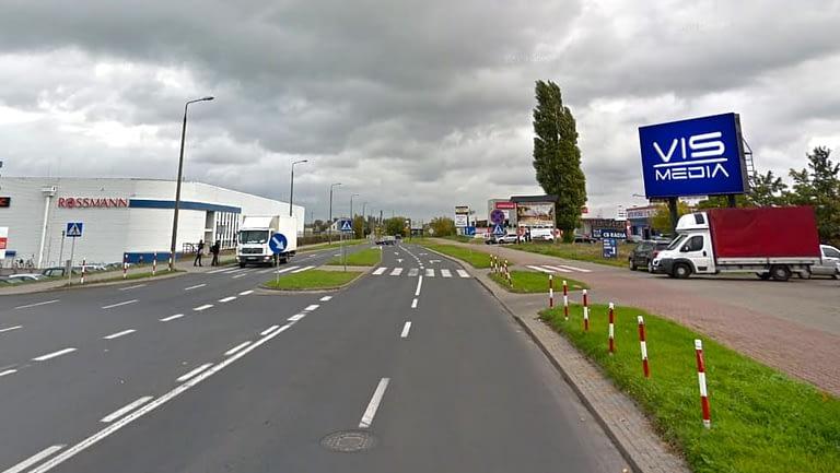 Telebim Ulica Wielki Rów w Toruniu, agencja reklamowa Vismedia