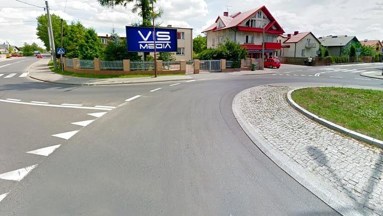 billboard 12 m2, Bełchatów, ulica Olsztyńska 1