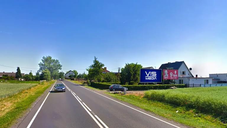 Jaksice (kierunek Bydgoszcz) Inowrocław billboard vismedia