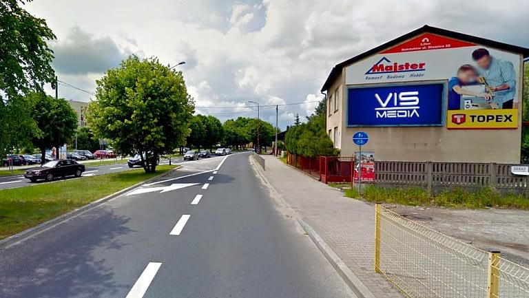 billboard 12 m2, Bełchatów, ulica Lipowa 3