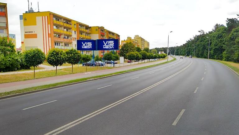 billboard 12 m2, Grudziądz, ulica Warszawska 1