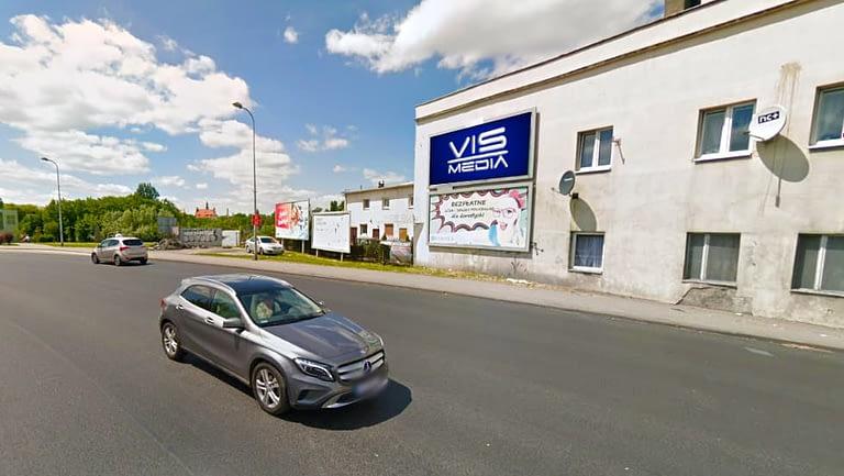 billboard 12 m2, Inowrocław, ulica Staszica 3